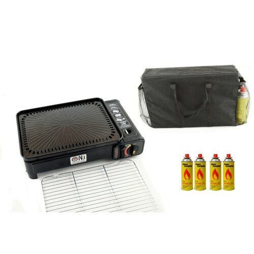 Portable Camping Gas Stove Cooker Grill BBQ  Bag