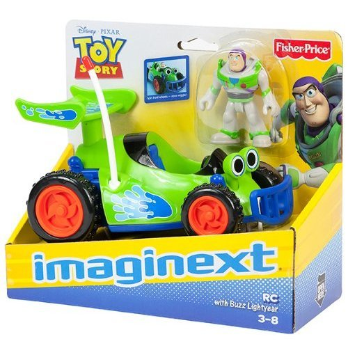 Imaginext Toy Story - Buzz Lightyear And Pizza Planet Truck