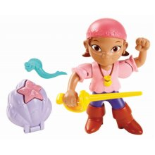 (Lzzy) - Fisher-Price Jake and the Never Land Pirates Buccaneer Battling Izzy Action Figure