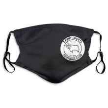 Derby County Football Team Face Masks for Adult Youth Reusable
