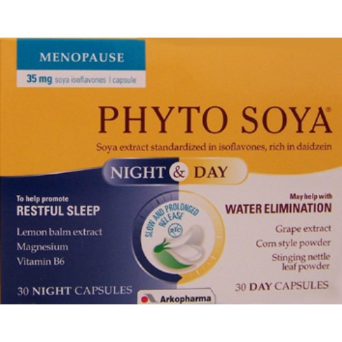 Arkopharma Arkocaps Phyto Soya Night & Day 60 Capsules