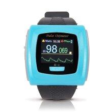 Wrist Pulse Oximeter Fingertip SpO2 Probe 24 Hours Record Monitor