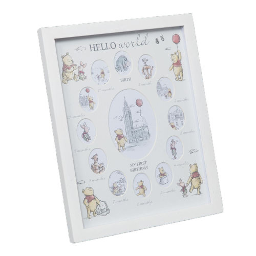 Disney Christopher Robin My First Year Photo Frame
