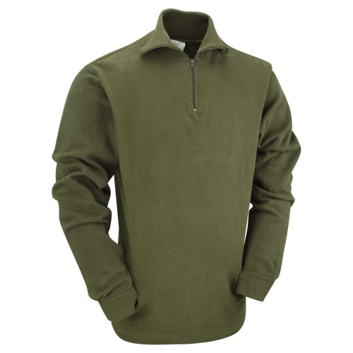 (Olive, XS) British Norwegian Army Style Cold Weather Top
