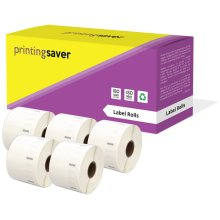 5 Compatible Rolls 11354 S0722540 57mm x 32mm Address Labels for Dymo LabelWriter 4XL 450 400 330 320 310 Twin Turbo Duo Seiko SLP 450 440 430 420...
