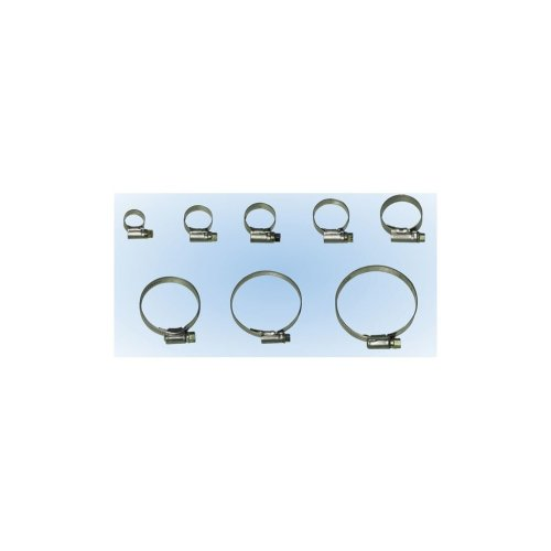 Pack of 10 Pearl PSHC03 Stainless Steel O-Hose Clip