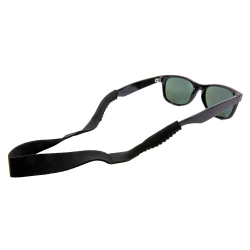 TRIXES Spectacle Strap For Glasses Sunglasses Neoprene Stretchy Sports Band Black