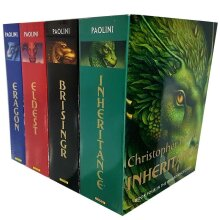 Christopher Paolini 4 books Collection Set Inheritance Cycle Series