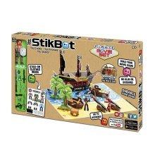 StikBot Pirate Movie Set Animation Studio Creative Toy