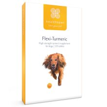 Dog Supplements | Flexi-Turmeric for Dogs | Healthspan | 120 Tablets