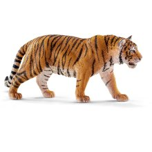 Schleich Tiger Animal Model - Wild Figure 14729 Life New -  schleich tiger animal wild figure 14729 life new