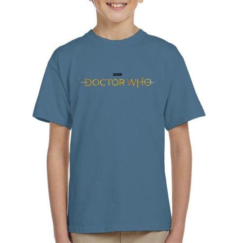 Doctor Who Hero Logo Kid's T-Shirt