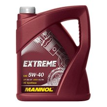 5L MANNOL Fully Synthetic Engine Oil EXTREME 5W-40 SN/CH-4 ACEA A3/B4 VW 502/505