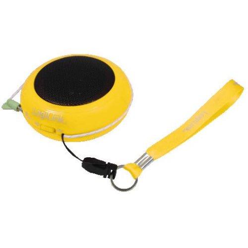 LogiLink Yellow Portable Active Speaker