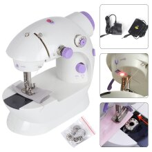 2Speed Adjustable Electric PortableMini Sewing Stitch Machine PedalLED