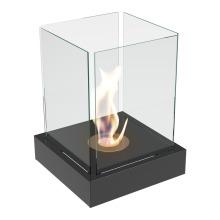 Freestanding biofireplaces TANGO 4 black with TÜV certified