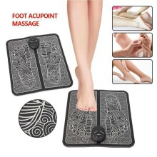 Muscle Blood Circulation Pain Relief Foot Feet Massager Mat Pad Spa Relax Home