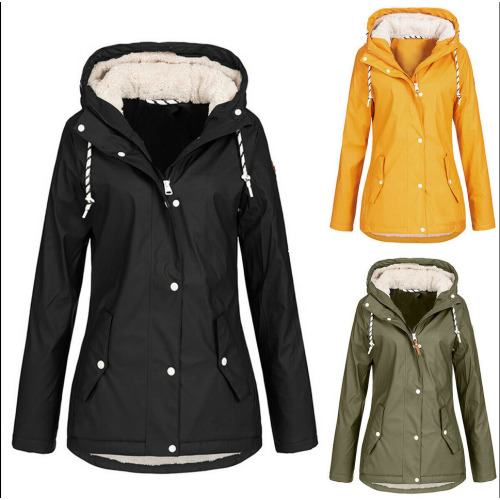 Women's Hooded Rain coat