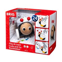 BRIO 30154 Code & Go Bumblebee