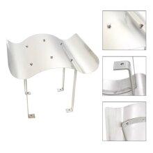 vidaXL Chimney Cowl Stainless Steel Silver 67x70x36cm Raincap Cover Protector