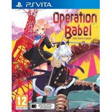 Operation Babel: New Tokyo Legacy (PlayStation Vita) - Used