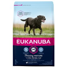 Eukanuba Mature Dog Food For Large Dogs Rich in Fresh Chicken For the Optimal Body Condition of Your Dog 3kg