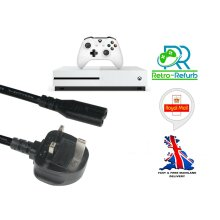 Brand New Replacement Power Cable Lead For Xbox One S Console - UK