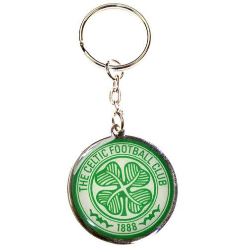 Celtic Crest Key Ring - Multi-colour - Key Fc Football Club Official Metal Gift -  celtic keyring fc football club official metal gift crest new