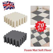 Soft Foam Kids Floor Mat Jigsaw Tiles Interlocking Garden Play Mats