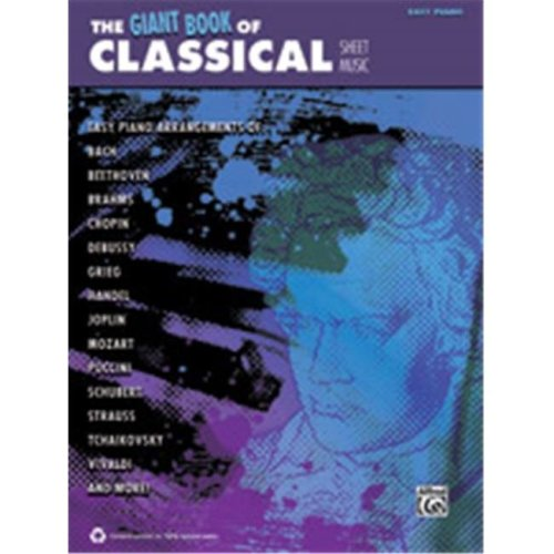 Alfred 00-42435 GIANT BOOK OF CLASSICAL SHEET- EP