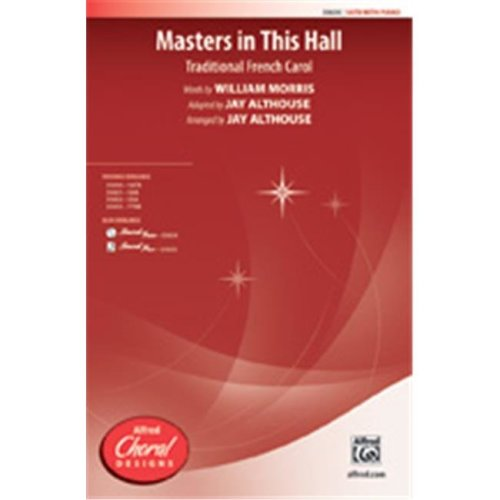 Alfred 00-35634 MASTERS IN THIS HALL-STRX CD