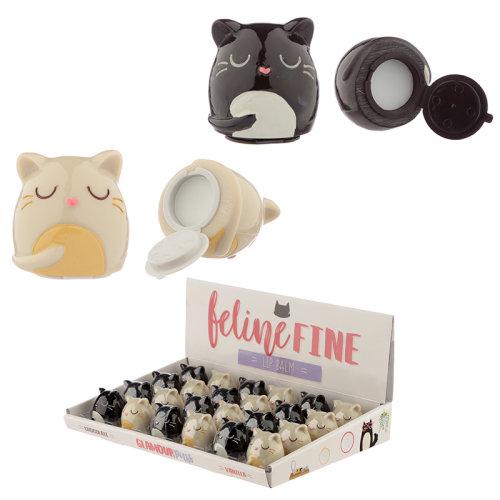 Funky Lip Balm - Cute Cat Design