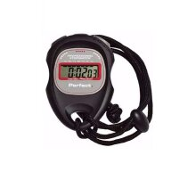 Perfect Fitness Chrono Move Professional Stopwatch - Black