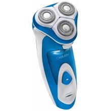 Carmen C82006 Sport Triple Head Flex/Pivot Cordless Shaver, Blue