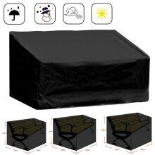 Heavy Duty 2-4 Seater Waterproof Garden Bench Furniture Seat Cover Anti Weather Dust
