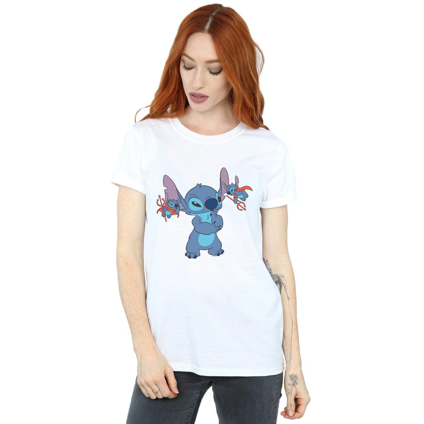 (White, XXX-Large) Disney Womens Lilo And Stitch Little