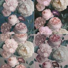 Arthouse Highgrove Vintage Floral Bloom Roses Blown Flowers Bouquet Wallpaper