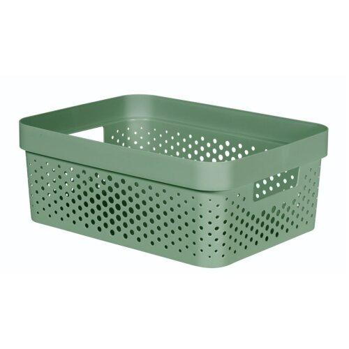 Curver Infinity Dots Box 11L Shale Green [245853]