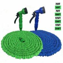 Garden Expanding Water Hose Pipe Spray Gun Flexible Hosepipe