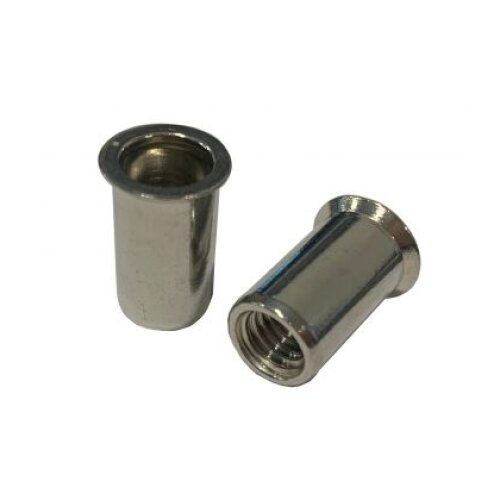 M16 Countersunk Head Blind Rivet Nut - Zinc Plated Mild Steel