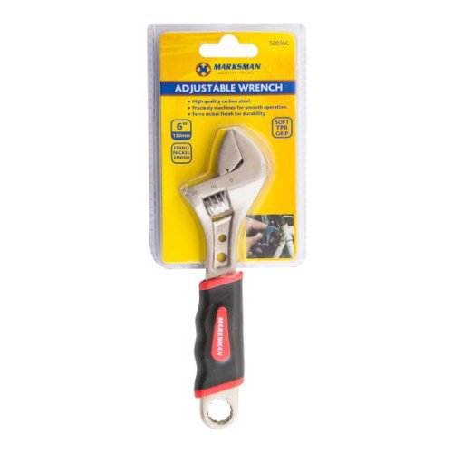 "Marksman 6"" Adjustable Wrench"