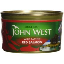 John West Red Salmon 213 g (Pack of 2)