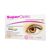 SuperOptic 60 CAPS, Helps Maintain Good Eye Sight, Usprawnia Wzrok,