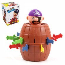 Super Pop Up Toy Jumping Pirate Board Game Funny