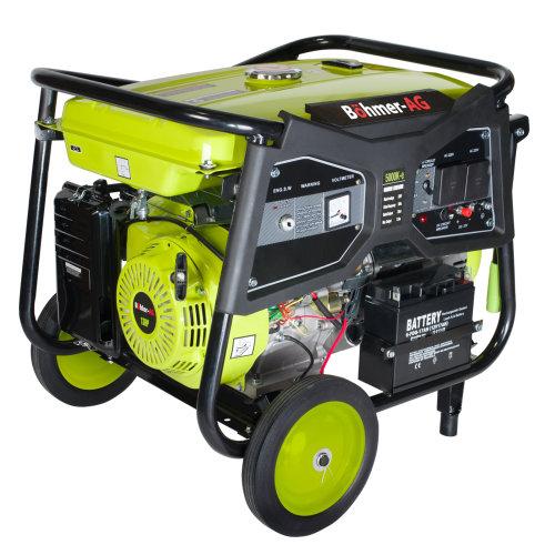 Bohmer-AG  WX5000K-e Petrol Generator Electric Key Start 7.5kW 9.4kVA   Portable Electric Power