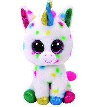 Ty Beanie Boos - Harmonie The 9 Inch Medium Buddy Speckled Unicorn