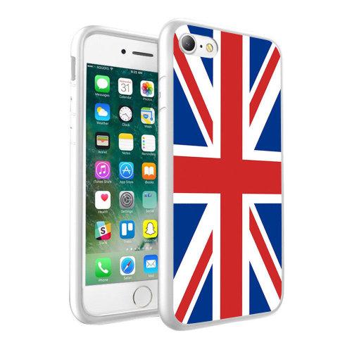 i-Tronixs - British Union Jack Flag Design Printed Case Skin Cover - 001