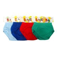 Bright Bots 4pk Boys Washable Training Pants