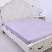 Serenity Night Lavender Colour Fitted Sheet Size 150x200+30cm - KING