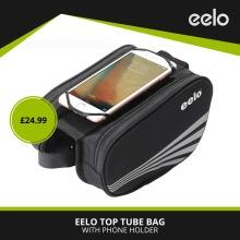 eelo Bike Top Tube Bag With Phone Holder